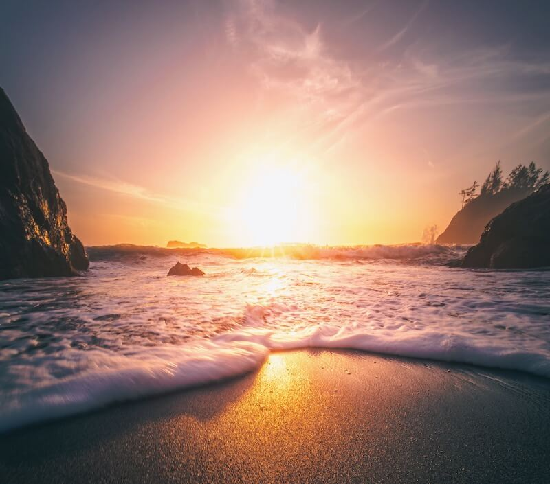 Beach in Trinidad California