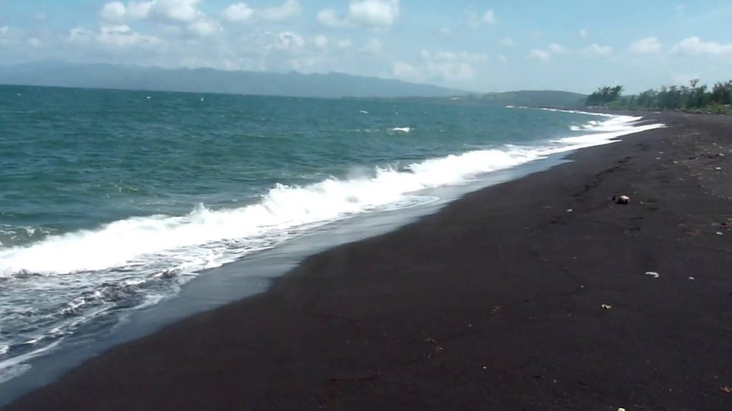 Black Sand Beaches in the Philippines