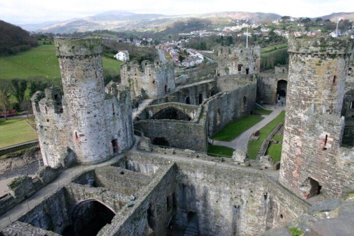 Conwy Castle Interior