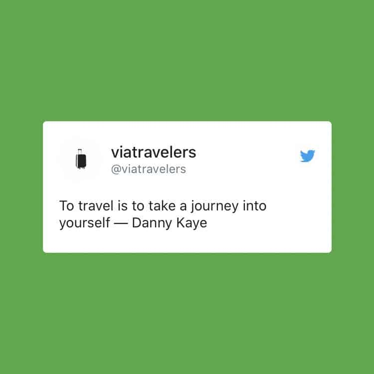 Danny Kaye Quote About Travel