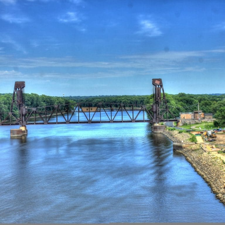 Lift Bridge in Minnesota