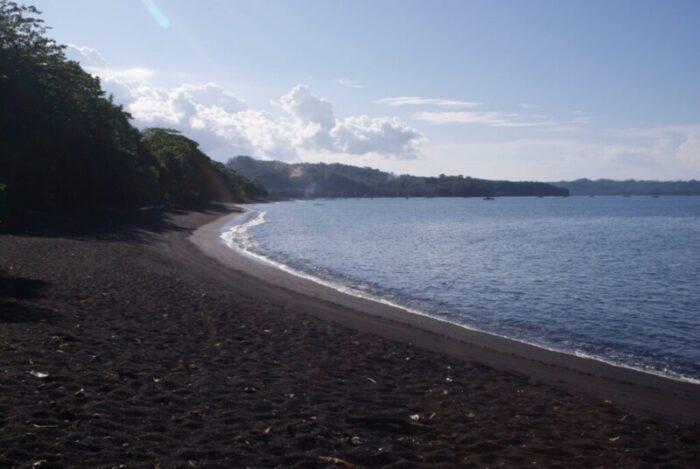 Black Sand Beaches in Indonesia