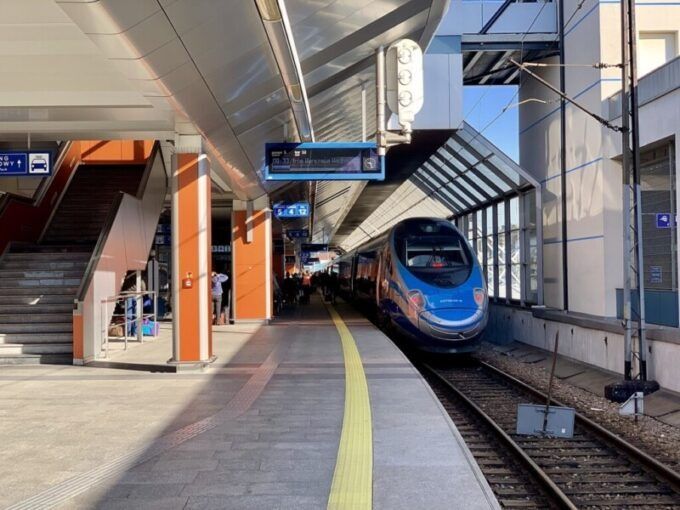 Train in Poland