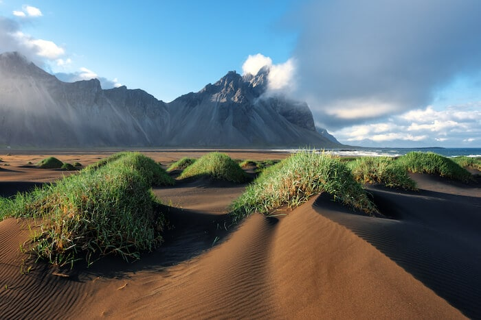 Stokknes Beach: Iceland