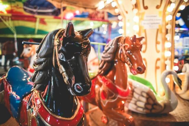 things to do in Burlington, NC: Carousel ride