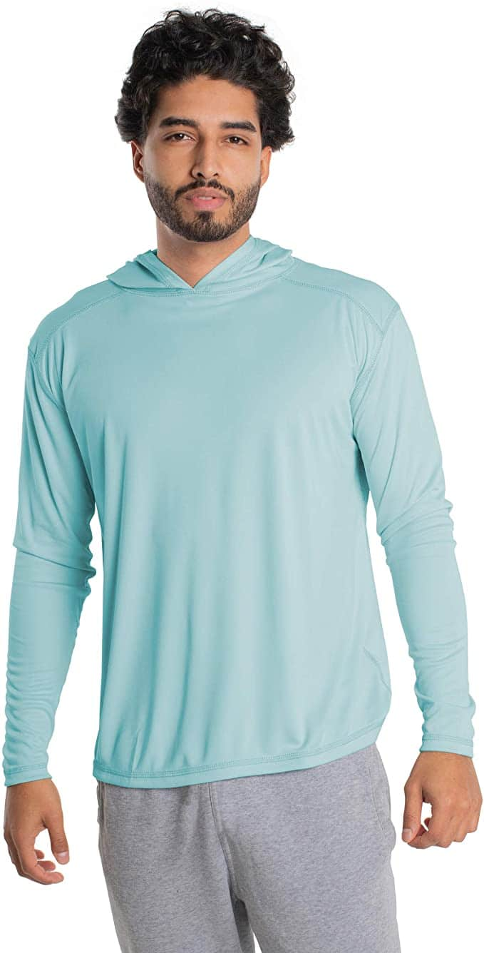 UV sun protection t-shirt:lightweight travel clothing for hot climates