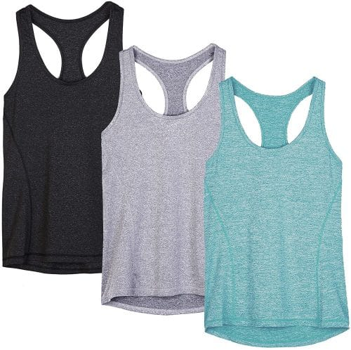 Workout Tank Tops for Women: lightweight travel clothing for hot climates