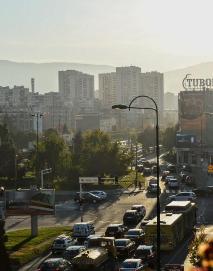 traffic in sarajevo