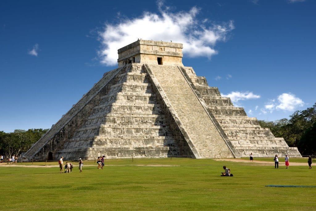 Maya ruins in Yucatan