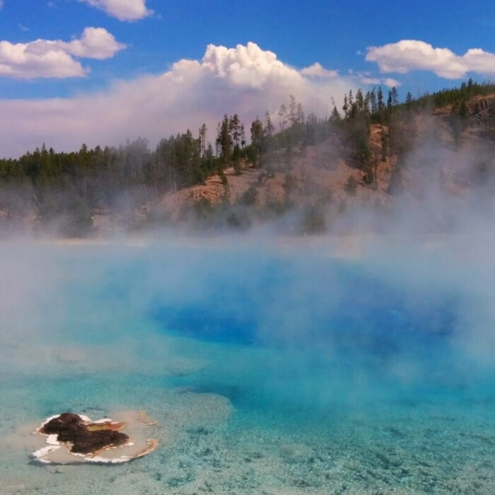 Geysers at Yellowstone