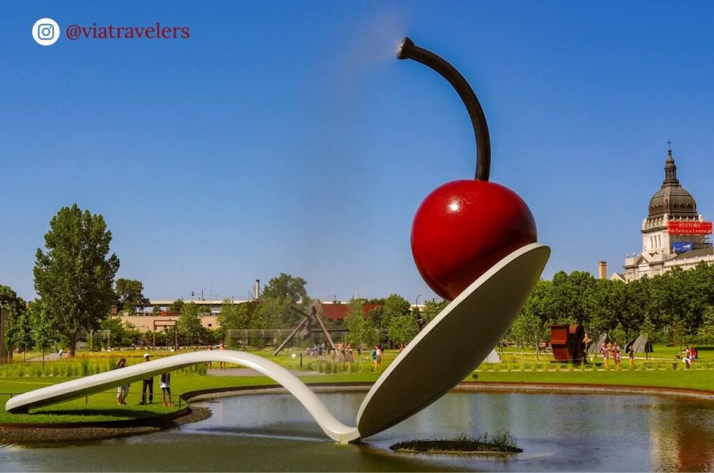 Cherry and the Spoon - Minneapolis Sculpture Garden