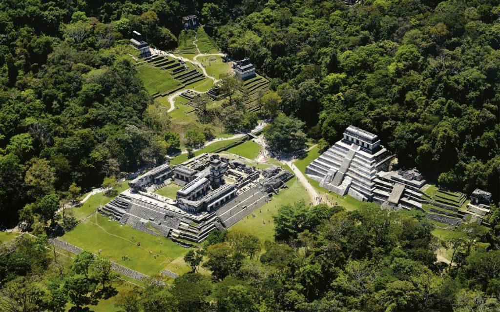 Ruins in Chiapas