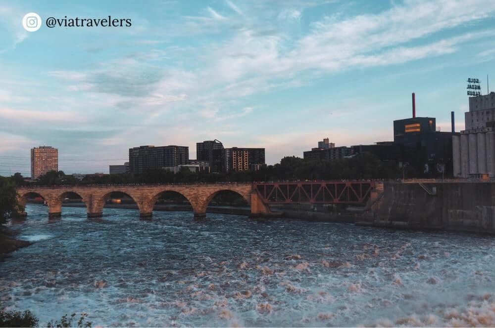 Stone Arch Bridge - Minneapolis, Minnesota