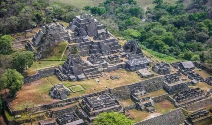 Maya Ruins in Chiapas