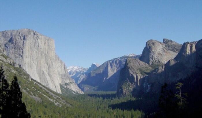 Tunnel View, Yosemite National Park, November