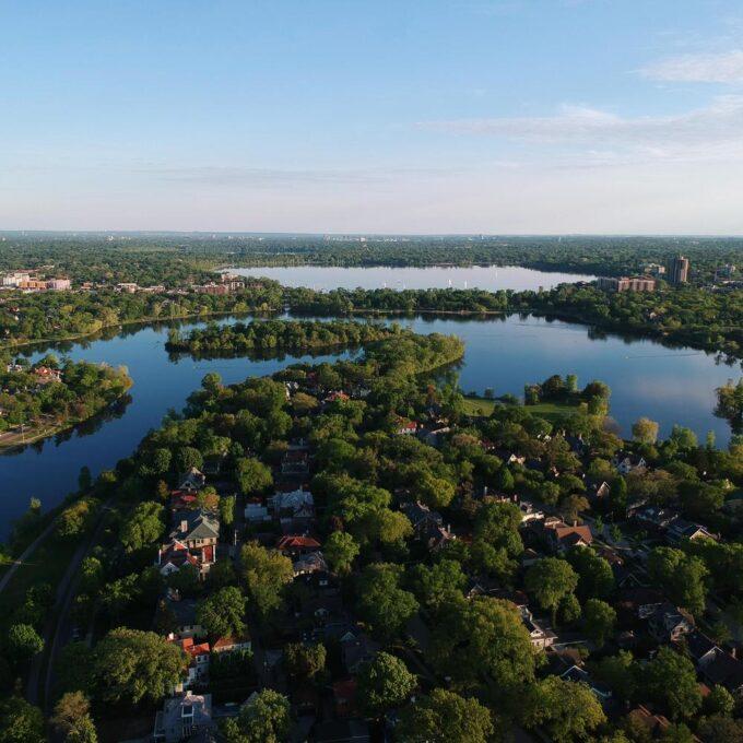 Chain of Lakes, Minneapolis