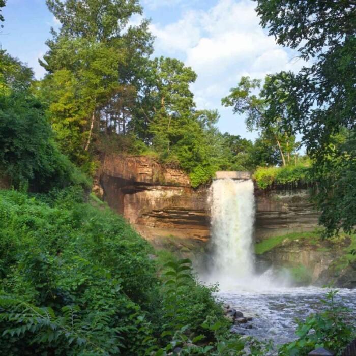 Minnehana Falls