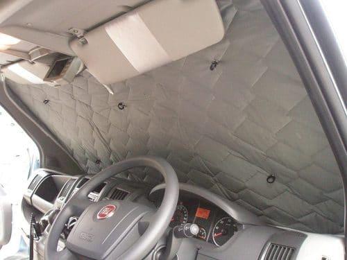 Car insulation blinds