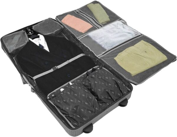 luxury rolling garment bags