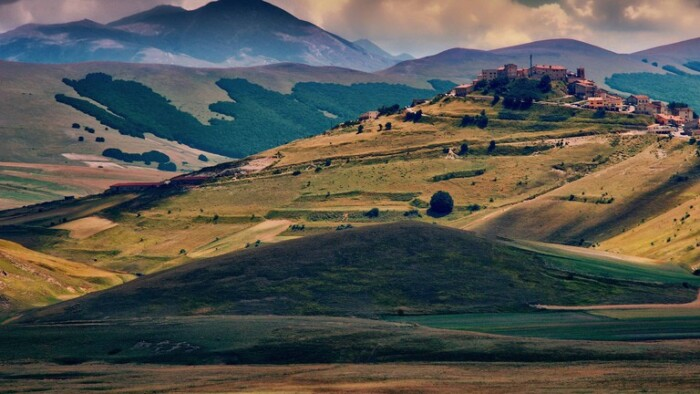 Landscape in Italy