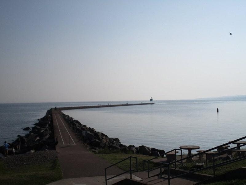 Agate Bay Beach and Lighthouse