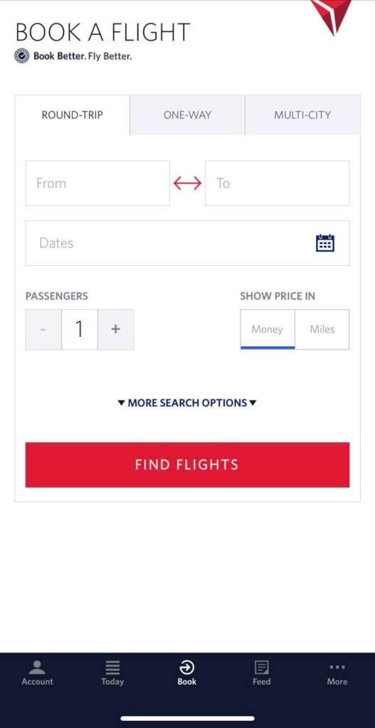 Book a Flight Delta App