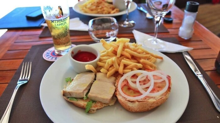 Bora Bora food