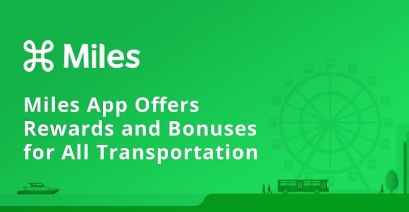 Miles App Rewards