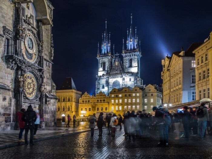 party in Prague