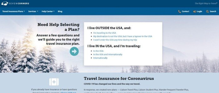 Seven Corners Travel Insurance Review