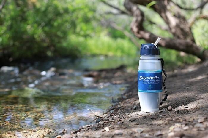 Seychelle Rad Advanced Water Filter Bottle