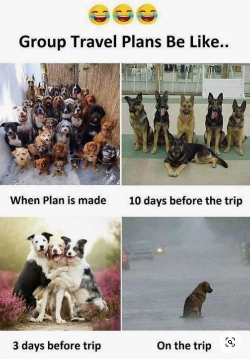Travel planning fail