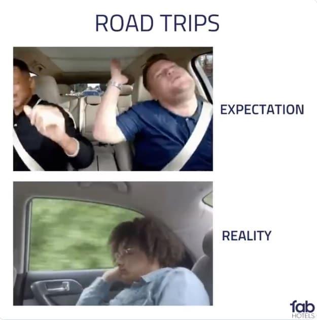 Roadtrip meme