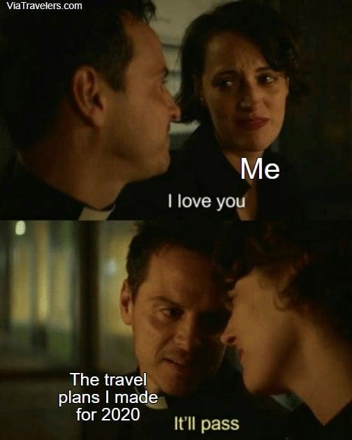 Travel meme travel ban