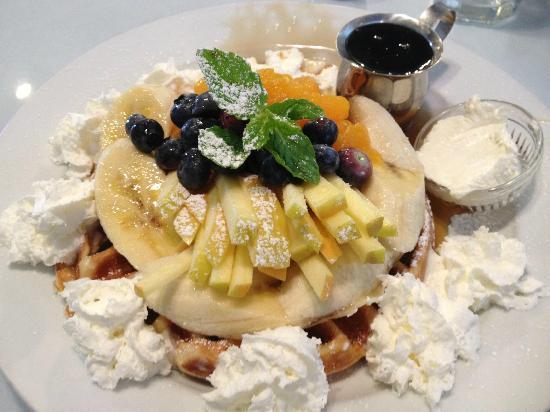 mascarpone waffles sandpiper cafe