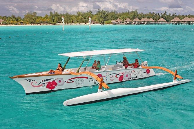 lagoon in a canoe