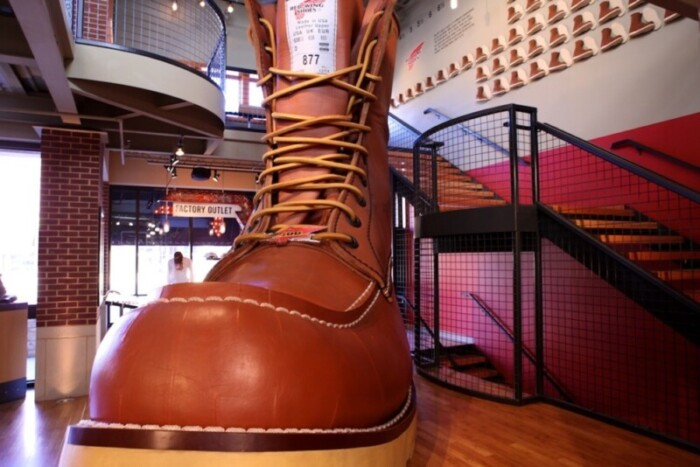 The World's Largest Boot is in Red Wing, MN