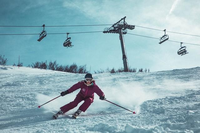 skiing in winona