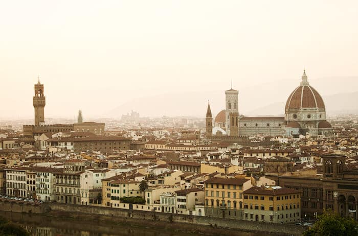 Florence, Italy Sunset