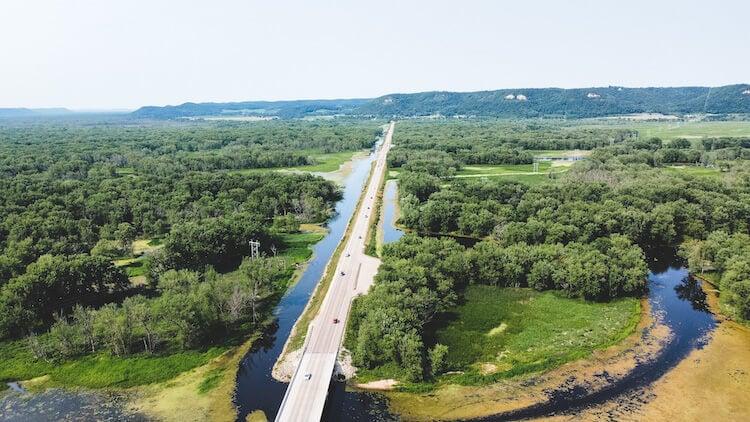 Wabasha River Bluff