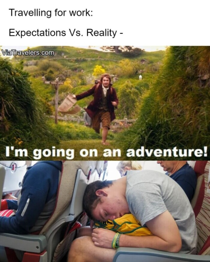 Travel memes work travel