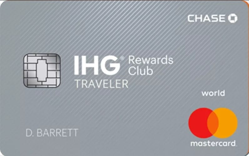 Chase IHG Club Traveler Credit Card