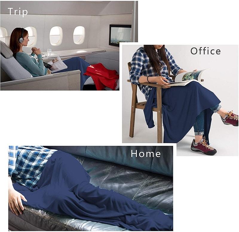 Cozy-Soft Travel Blanket