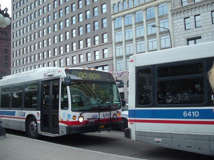 Chicago Transit Authority's buses