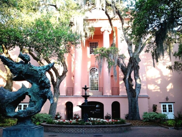 Find the College of Charleston when you do a Charleston walking tour of Cannonborough/Elliotborough neighborhoods.