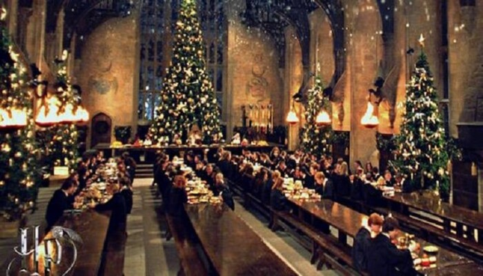 Harry Potter Christmas vacations
