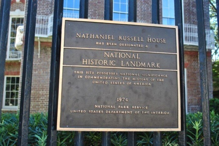 Take a free walking tour of the Nathaniel Russell House, a National Historic Landmark.