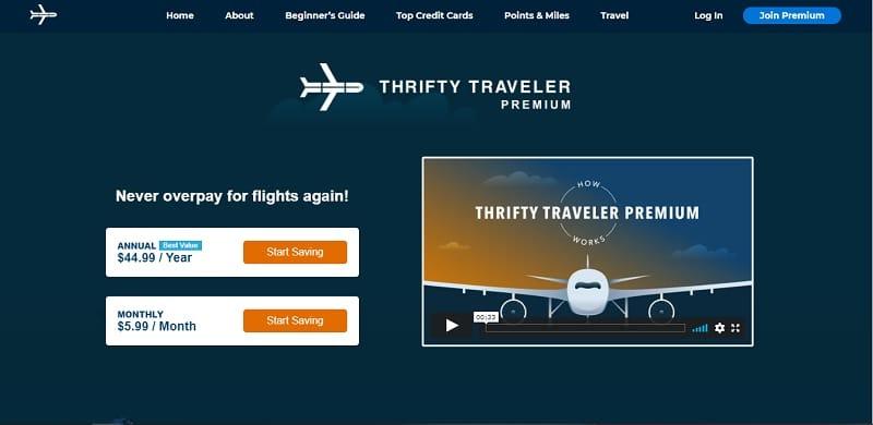 Thrifty Traveler Premium membership