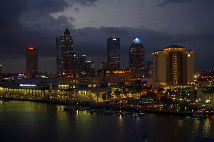 Tampa Bay Night