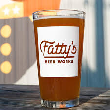 Fatty's Beer Works Logo and beer